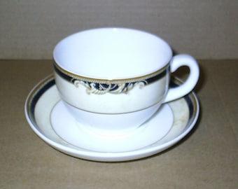 Wedgwood Cornucopia Cup & Saucer