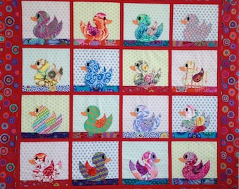 BABY DUCKS QUILT Pattern only