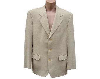 Carven Made in France Men Wool Blazer Sport coat Mens Vintage Formal blazer Suit blazer gents jacket gnAQcBBZ