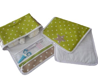 Diaper bag + changing mat - to the stars-