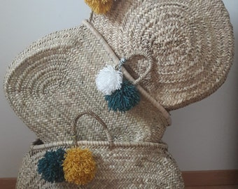 Chic and Bohemian basket