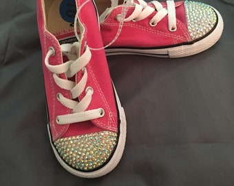 Customized Children's Converse Sneakers  Size 10c