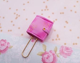 Kikki K Pink Lavender Paper Clips