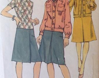 70s Dress Simplicity 6150 Dress and Jacket • size 16