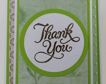 Thank You Z Fold Card