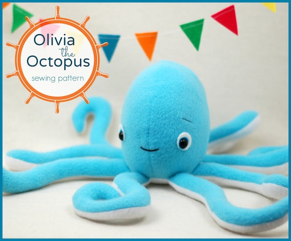 Olivia the Octopus PDF Sewing Pattern