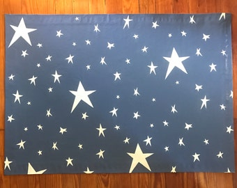 2'x3' All over star pattern floor cloth. Custom design. Choose your size and colors.
