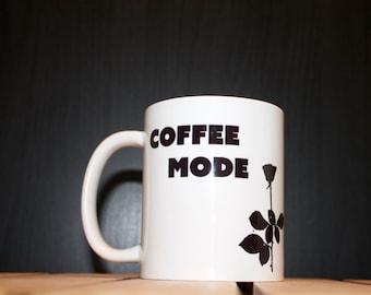 "Coffee Mode ""Depeche Mode Violator"" inspired mug"