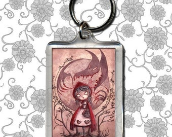 Little Red Riding Hood - Keychain