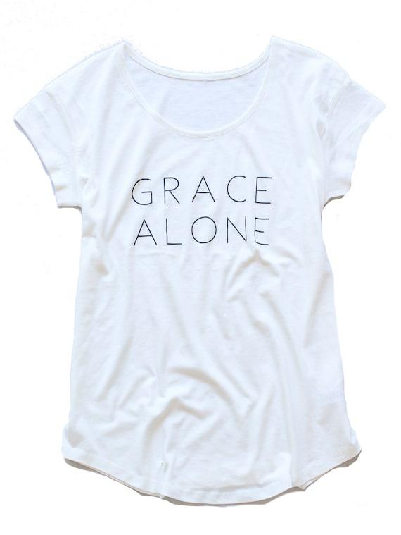 Grace Alone Tee
