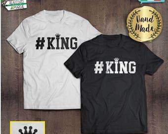 T-shirt #KING