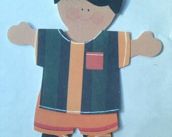 Paper Doll Boy 2pc. Pajama Set