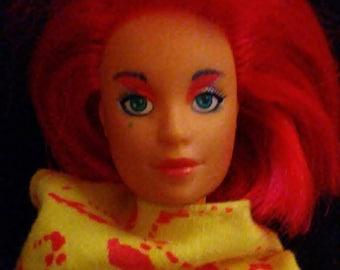 """Vintage 1980s Hasbro JIM and The Holograms """"KIMBER"""" Doll!"""