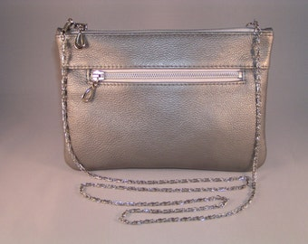 Real Leather Cross Shoulder or Clutch Bag