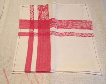French Vintage Linen Apron - upcycled from French Armagnac  Stock