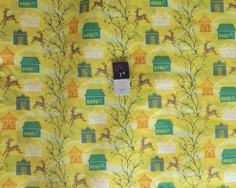 Anna Maria Horner VAH03 Little Folks VOILE Forest Hills Citrus Cotton Fabric 1 Yd