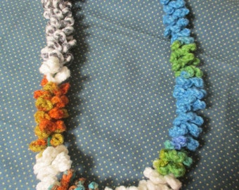 CHILD'S HAWAIIAN LEI, Party Necklace, Flower Necklace