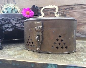 Brass cricket box