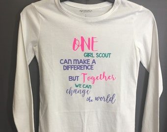 Girl Scout T Shirt