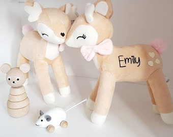 SilverElk NEW Super Cute Personalized DEER with NAME, Wonderful Gift <3