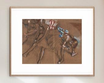 Edgar Degas - Rare Drawing - Giclee Print