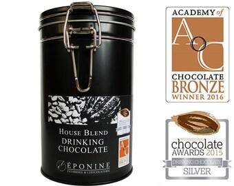 Luxury Hot Chocolate - Multi award-winning dark drinking chocolate handmade with single-origin chocolates - vegan hot chocolate