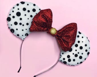 Disney 101 Dalmations Costume Minnie Mouse (Mickey Mouse) Ears
