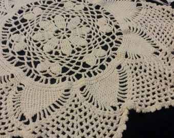 Doily Vintage Crochet Lace 12'' Table Decor Home