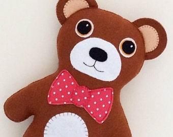 Teddy Bear pdf Sewing Pattern