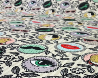 by the  Meters,Ethnic,Frames Design Fabric, Frames ,Floral print fabric,Ethnic,Tribal Upholstery