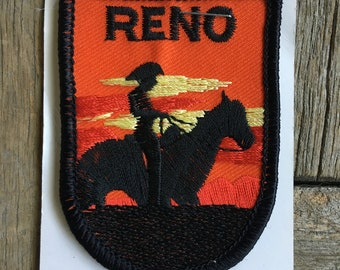 Reno Nevada Vintage Souvenir Travel Patch from Reno Tahoe Specialty, Inc