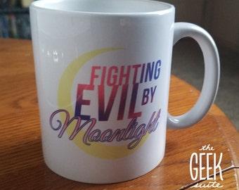 Sailor Moon Theme Mug