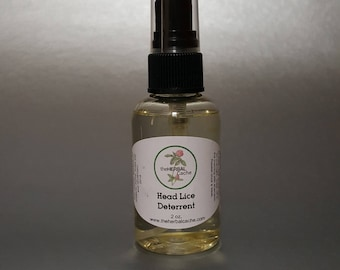 Head Lice Deterrent - All Natural Head Lice Deterrent - Back to School