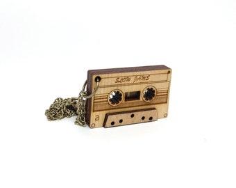 Tape Cassette Necklace