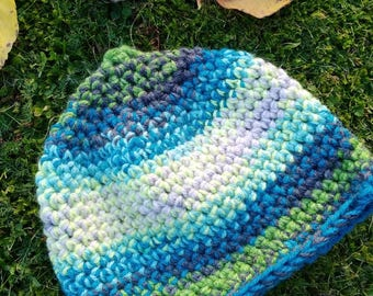 Pixie hood crochet pointy baby 3-6 months