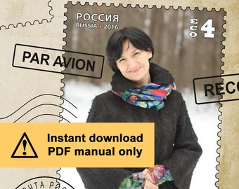 Eco.4 / PDF tutorial / Flared jacket with set in sleeves