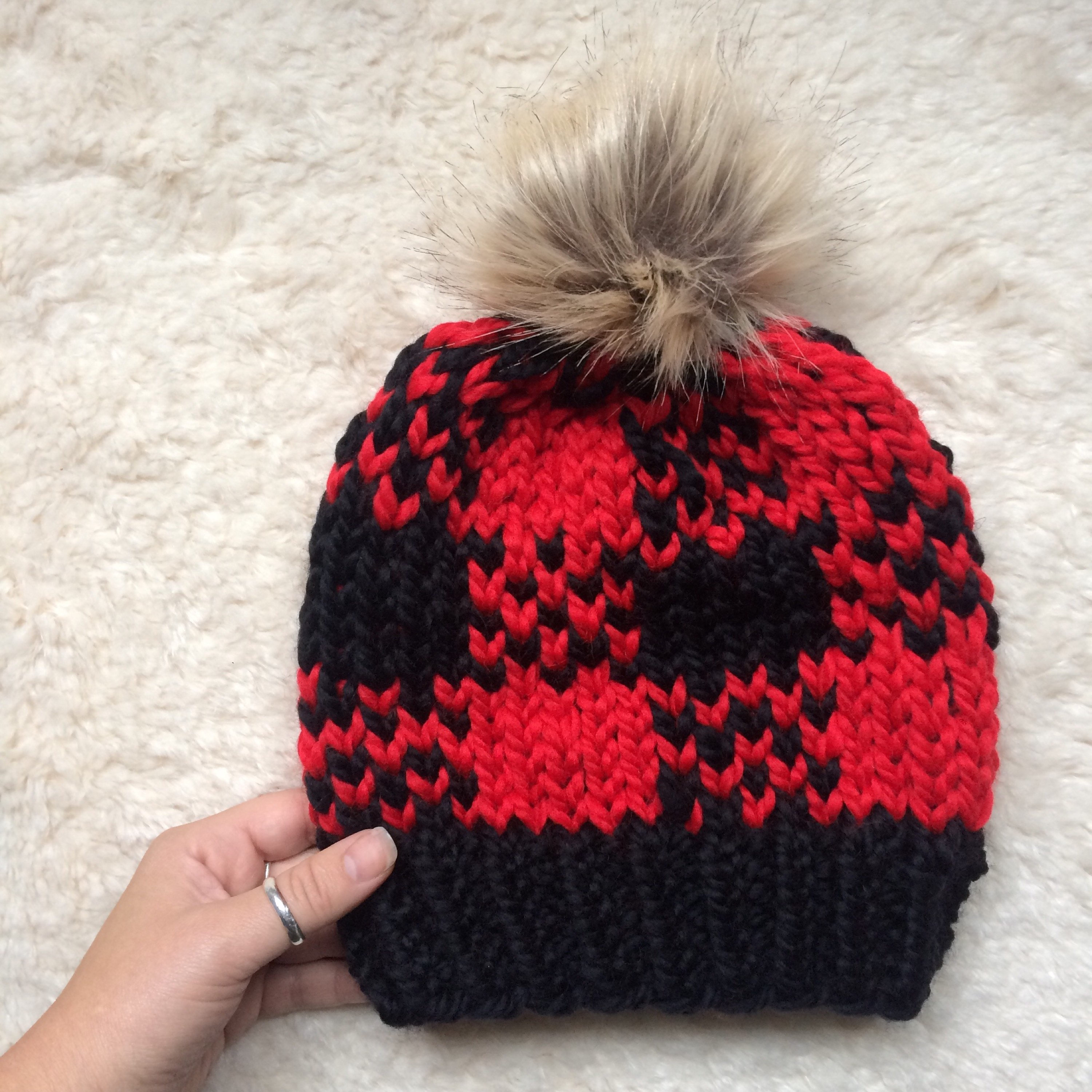 Instant download knitting pattern unisex hat pattern fair isle hat this is a digital file dt1010fo