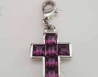ON SALE Authentic KENNETH Jay Lane Cross Charm