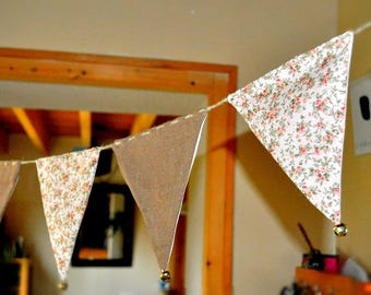 Bunting linen and liberty bells