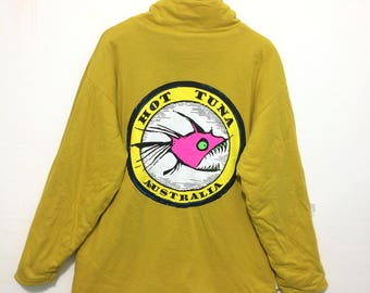 Reversible Jumper M.Second Original Hot Tuna Big Logo Australia Standcollar