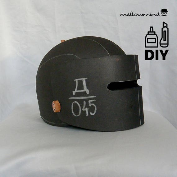 diy rainbow six tachanka helmet template for eva foam. Black Bedroom Furniture Sets. Home Design Ideas