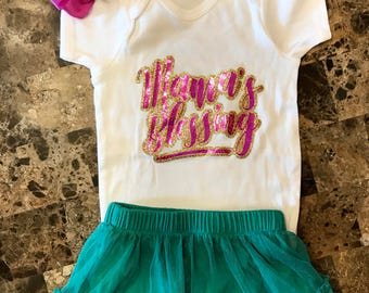 mama's blessing onesie, baby girl onesie, baby shower gifts, pregnancy gifts, birthday onesie. baby bodies