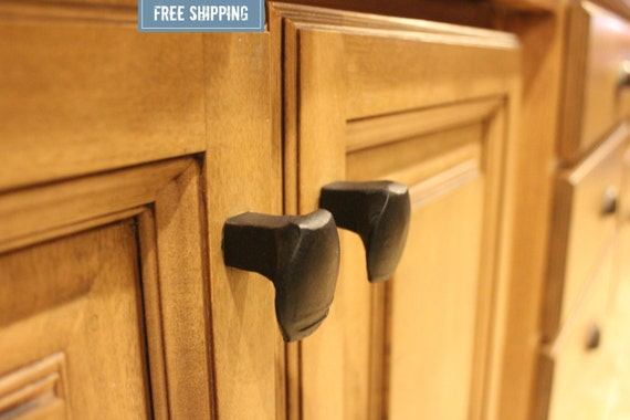 Railroad Spike Cupboard Handle Dresser Drawer Pull Cabinet