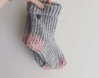 Super chunky slipper socks