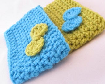 Crochet Coffee Cup Sleeve Set