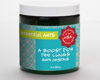 A Boost For The Lungs Aromatherapy Bath Crystals