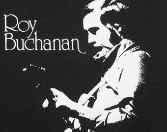 Roy Buchanan T shirt NEW S, M, L, XL Send message with your size.