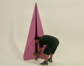 Giant Paper Airplane Sculpture Art Prop