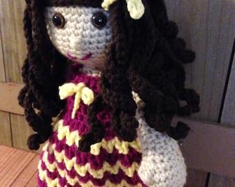 Miss Margarita Crochet Doll Pattern