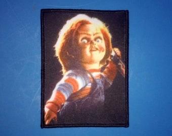 PATCH - Child's Play CHUCKY - HORROR -slasher, 80s, cult movie, comedy, good guys